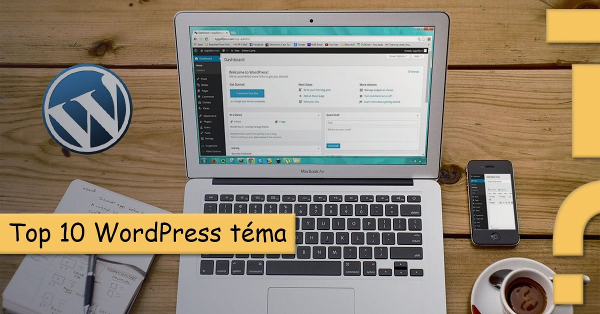 top 10 wordpress téma